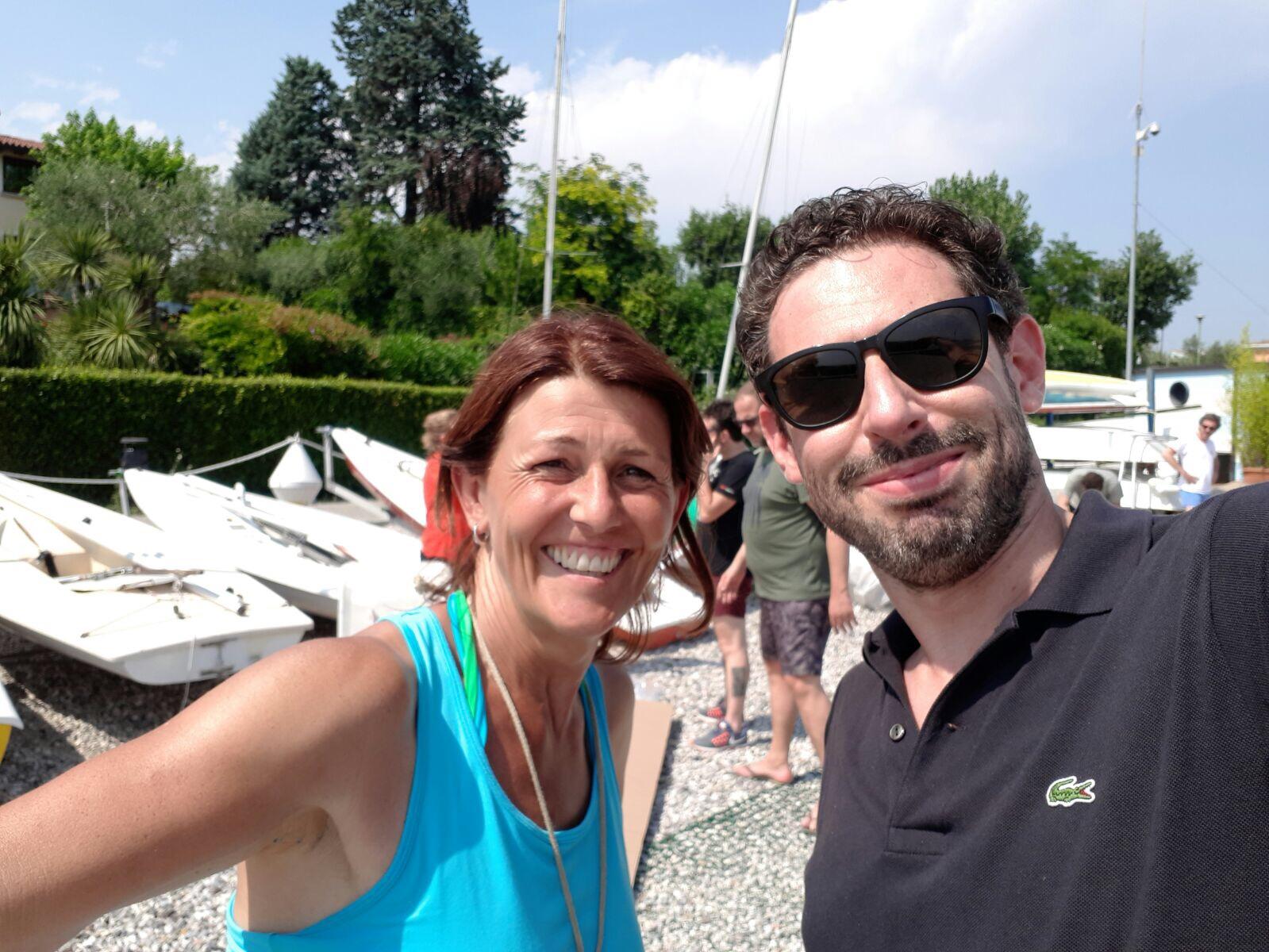 I COACH Paola Ferrario e Federico Mazzucchelli