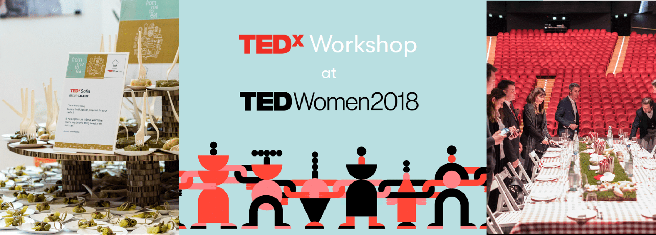 TEDWomen parla di From me to eat e Dinner on Stage di TEDxVicenza