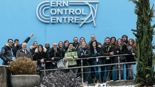 TEDxVicenza team al CERN